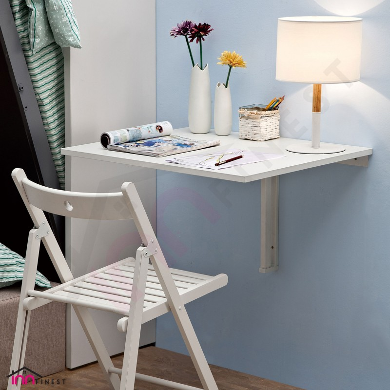 70cm Foldable Wall Table, Multipurpose Space Saving, For ...